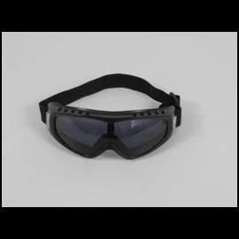 gafas de operador, negro claro