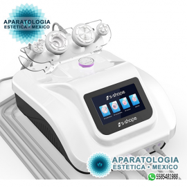 S-SHAPE (de lujo) Cavitación ultrasónica con RF + Vacumm con RF (corporal) + Vacumm con RF (facial) + EMS con Electroporacion
