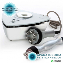 RADIOFRECUENCIA TRIPOLAR (ROSTRO Y OJOS) Y SEXTUPOLAR (CUERPO) 3D PORTATIL CON INFRARROJO (ECONOMICA)