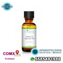 Exfoliante con vitamina C y ácido kójico (30 ml)