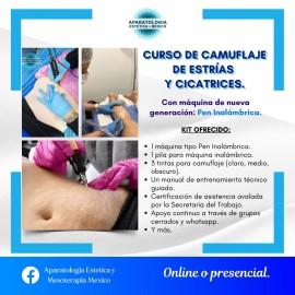 CURSO DE CAMUFLAJE DE ESTRIAS