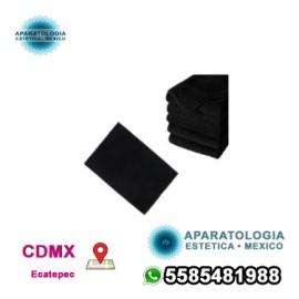 Toallas de microfibra negras premium