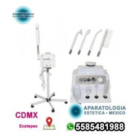 Vaporizador facial 2 en 1 y máquina facial de alta frecuencia