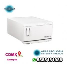 White Compact 2 en 1 Calentador de toallas caliente y esterilizador