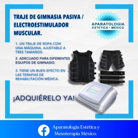 TRAJE DE GIMNASIA PASIVA / ELECTROESTIMULADOR MUSCULAR