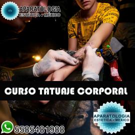 Curso tatuaje corporal